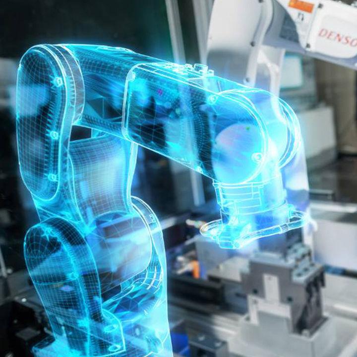digital twin robot